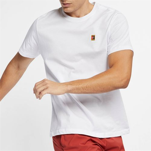 04f8aa2a Nike Court Heritage Tee, BV5809 100 | Men's Tennis Apparel