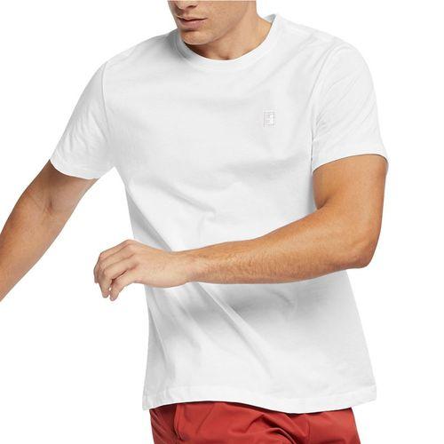 Nike Court Tee Shirt Mens White BV5809 101
