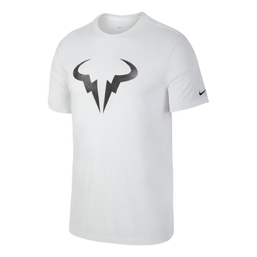 Nike Court Dry Rafa Graphic Tee - White