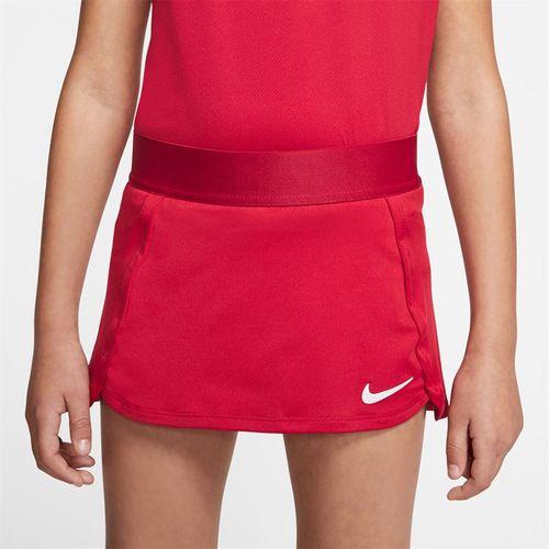 Nike Girls Court Skirt Gym Red/White BV7391 687
