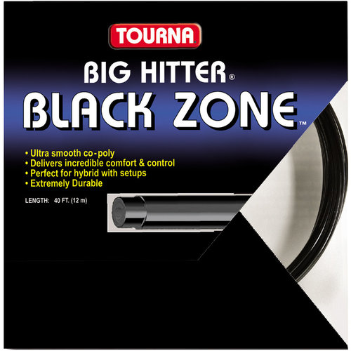 Tourna Big Hitter Black Zone 16 Tennis String