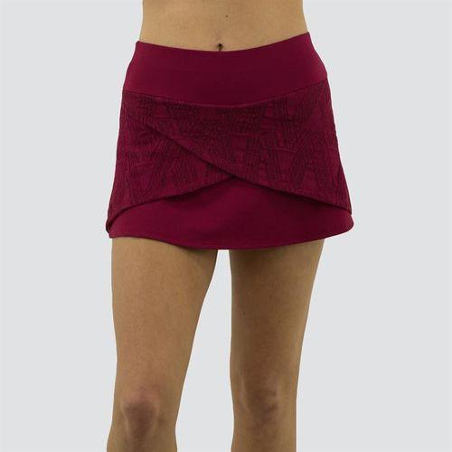 Blue Fish Romance Desire Skirt Womens Merlot C1006 ME