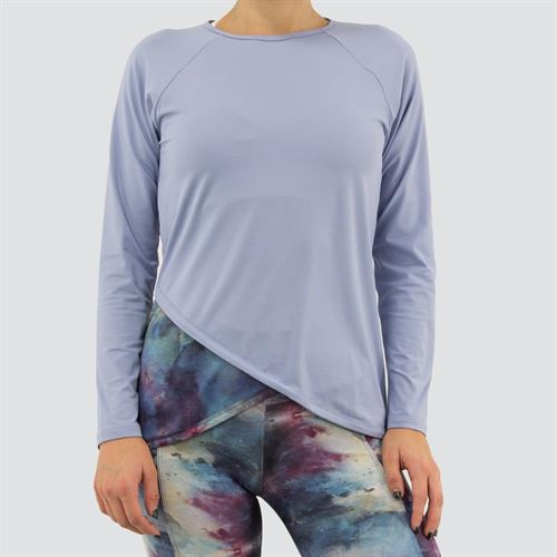 Blue Fish Galaxy Mesh Spirit Long Sleeve Top Womens Frozen/Water C1030 FW