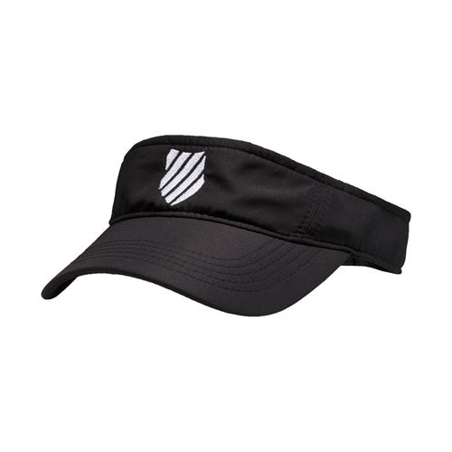 K-Swiss Court Visor - Black/White