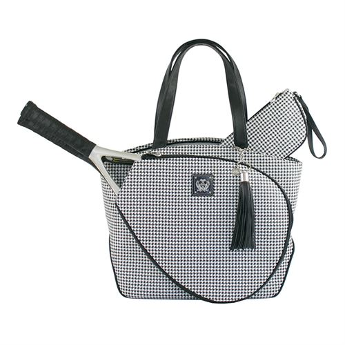 Court Couture Cassanova Tennis Bag - Houndstooth