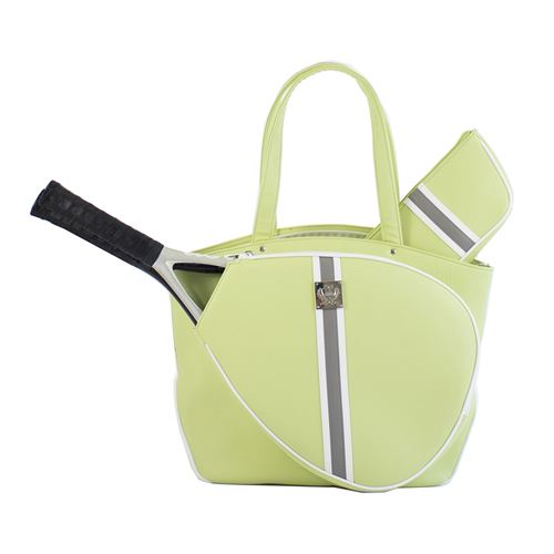 Court Couture Cassampva Striped Tennis Bag - Sage