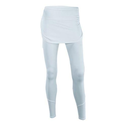 Lucky in Love Ruched Skirt Legging - White
