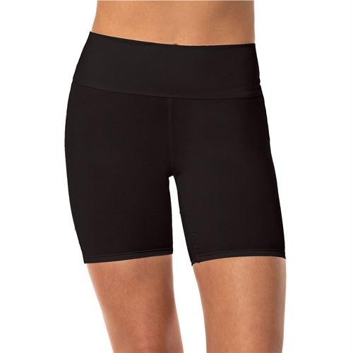 Lucky in Love Meshing Around Hi Brid Short Womens Black CB408 001