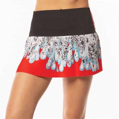 Lucky in Love BMS Print Hi Flora Pleated Skirt Womens Multi CB427 A11955