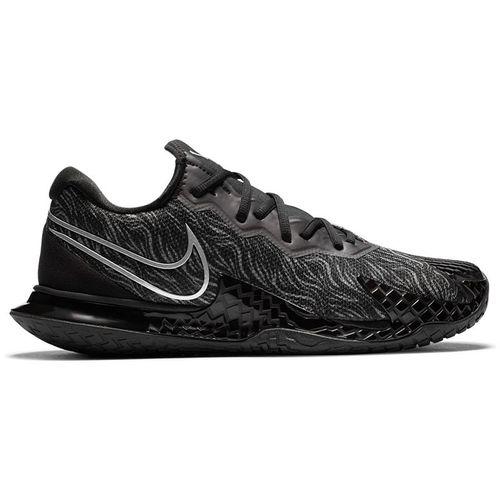 Nike Court Air Zoom Vapor Cage 4 Mens Tennis Shoe Black/Metallic Silver/University Red CD0424 005û