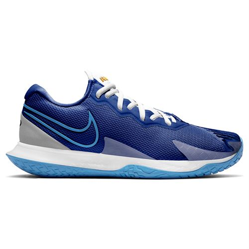 Nike Court Air Zoom Vapor Cage 4 Mens Tennis Shoe Deep Royal Blue/Coast/White CD0424 400