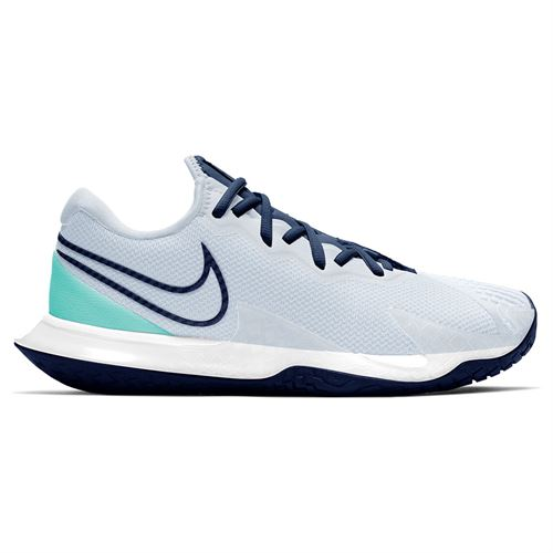 Nike Court Air Zoom Vapor Cage 4 Womens Tennis Shoe Football Grey/Midnight Blue CD0431 010
