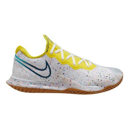 Nike Court Air Zoom Vapor Cage 4 Womens Tennis Shoe White/Valerian Blue/Oracle Aqua CD0431 107