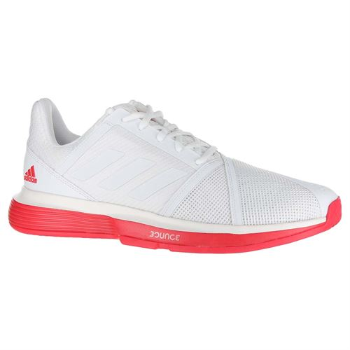 7d5d3bce61c adidas Court Jam Bounce Mens Tennis Shoe - White Shock Red
