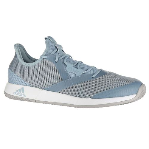 best website d4a78 a52b2 adidas Adizero Defiant Bounce Mens Tennis Shoe - Ash GreyLight  GraniteWhite