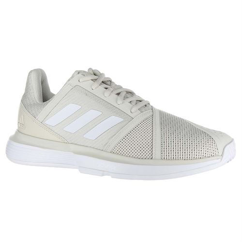 ad71641f23357 adidas Court Jam Bounce Womens Tennis Shoe - White Matte Silver