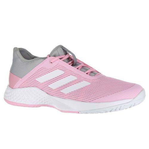 quality design 852da 50e46 adidas Adizero Club Womens Tennis Shoe - Light Granite White True Pink