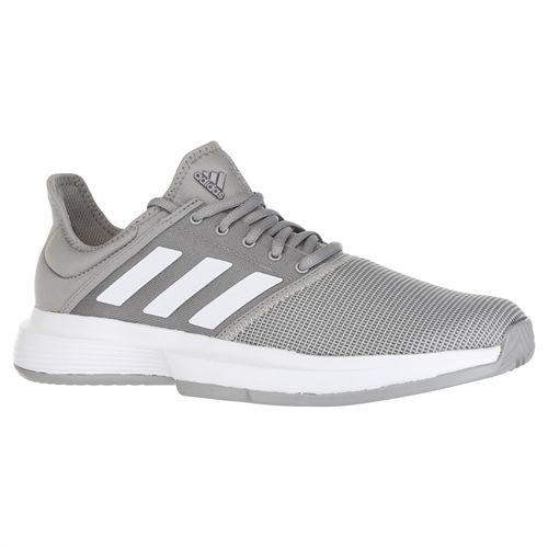 on sale aa852 7d391 adidas Game Court Womens Tennis Shoe - Light GraniteWhiteGrey Heather