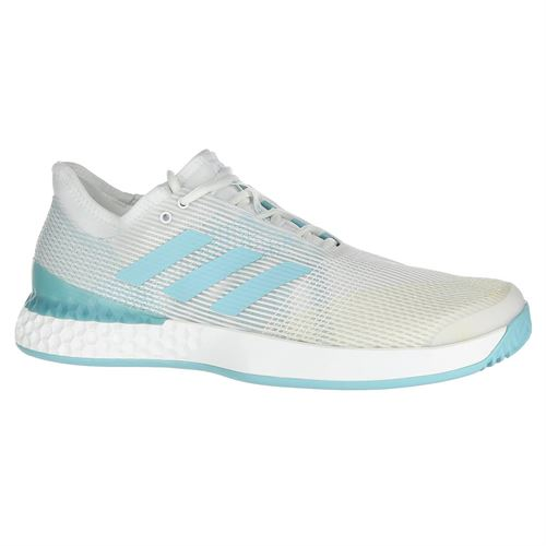 new products cea57 0a0ac adidas Adizero Ubersonic 3 Parley Mens Tennis Shoe - WhiteBlue Spirit