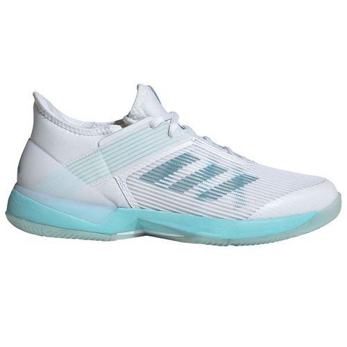 purchase cheap 3c2a4 6abb1 adidas Adizero Ubersonic 3 Parley Womens Tennis Shoe - Blue SpiritWhite