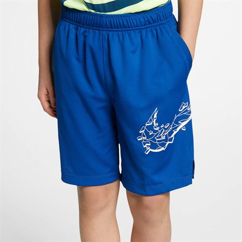 Nike Boys Dri Fit Short - Indigo Force/White