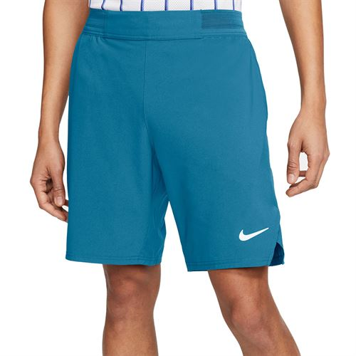 Nike Court Flex Ace 9 inch Short Mens Neo Turquoise/White CI9162 425