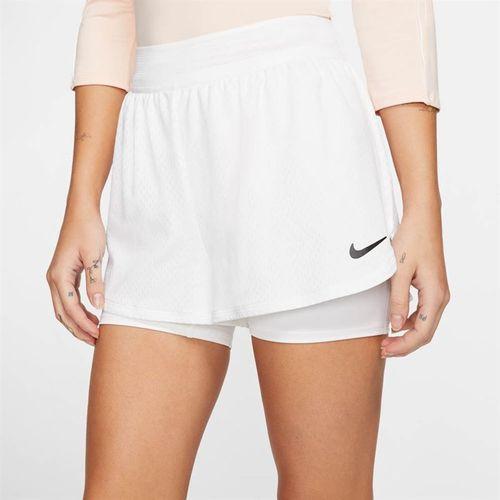 Nike Court Flex Short Womens White/Black CI9378 100