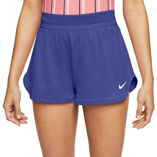 Nike Court Flex Short Womens Rush Violet/White CI9378 554