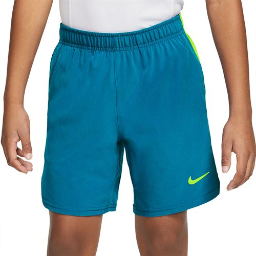 Nike Boys Court Flex Ace Short Neo Turquoise/Volt CI9409 425
