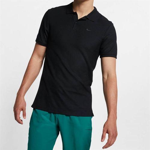 Nike Court Advantage Polo - Black/Black