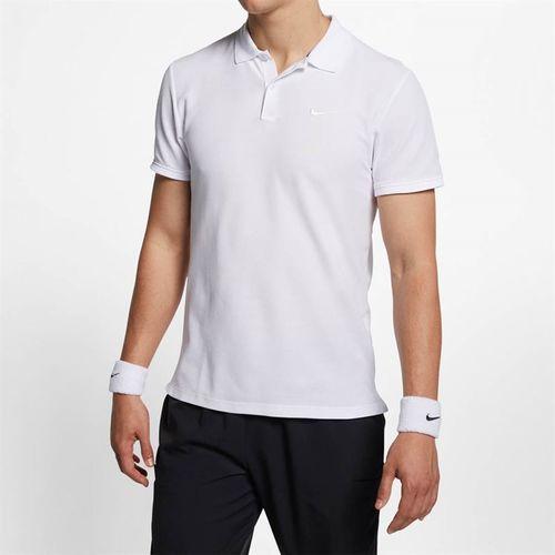 Nike Court Advantage Polo - White/White