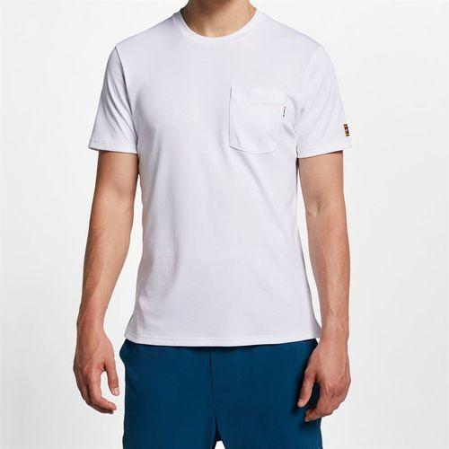 Nike Court Heritage Tee - White/Black