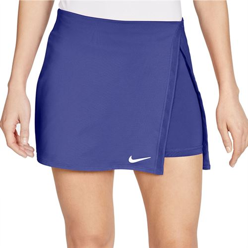 Nike Court Dri Fit Skirt Womens Rush Violet/White CJ0944 554