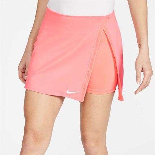 Nike Court Dri Fit Skirt Womens Sunblush/White CJ0944 655