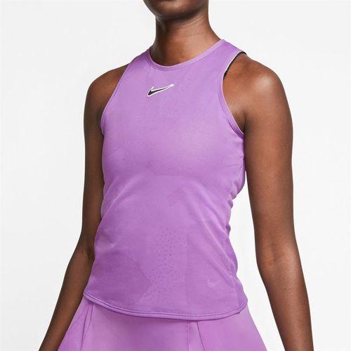 Nike Court Tank Womens Purple Nebula/Off Noir CJ1151 532