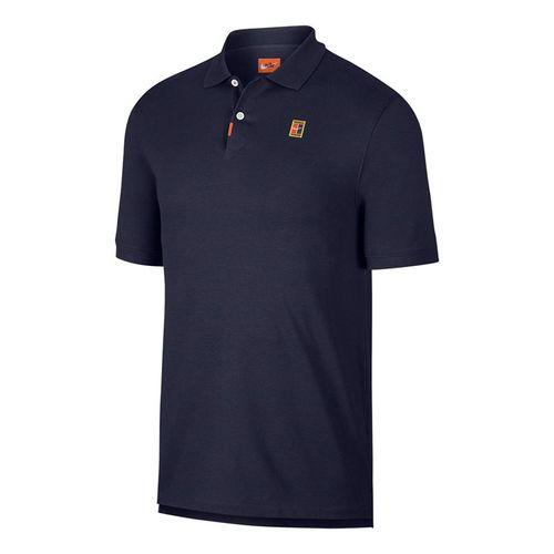 Nike The Nike Polo Shirt Mens Obsidian CJ9524 451