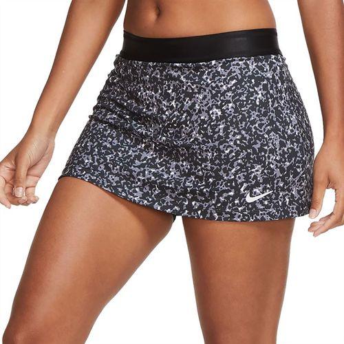 Nike Court Dri Fit Skirt Womens Black/White CK8216 010