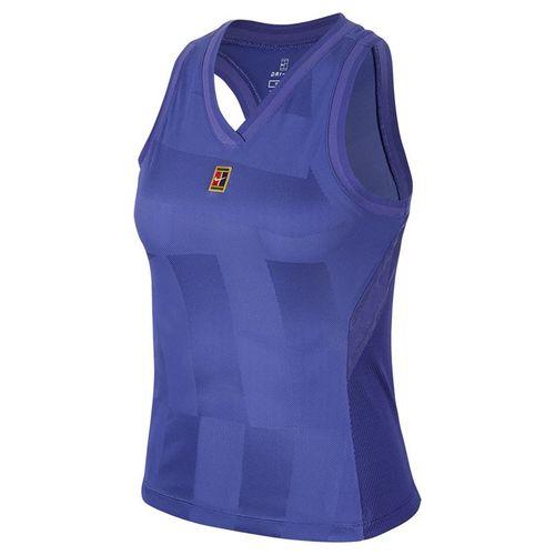 Nike Court Dri Fit Slam Tank Womens Rush Violet CK8285 554
