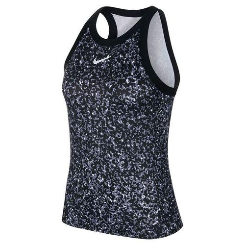 Nike Court Dri Fit Tank Womens Black/White CK8352 010