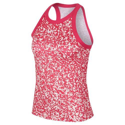 Nike Court Dri Fit Tank Womens Vivid Pink/White CK8352 616
