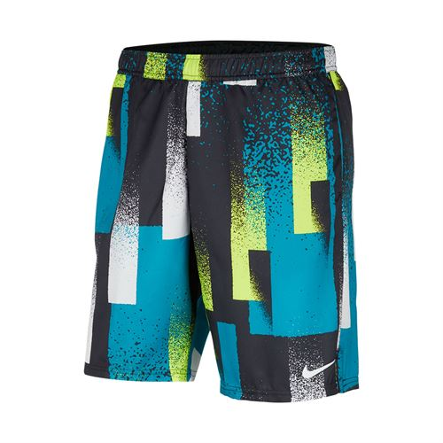 Nike Court Dri Fit Short Mens Topaz Mist/White CK9771 449