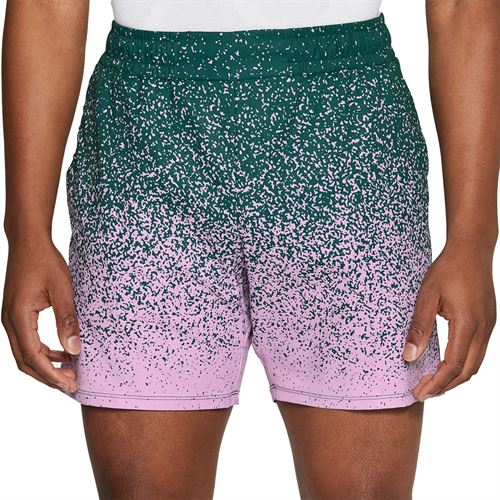 Nike Court Rafa 7 inch Short Mens Dark Atomic Teal/Beyond Pink CK9783 300