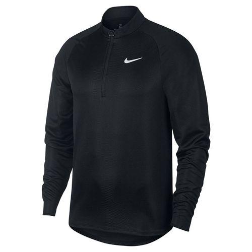 Nike Court Challenger 1/2 Zip Pullover Mens Black/White CK9822 010