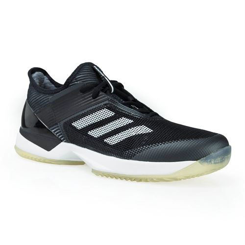 super popular b3b16 6a069 adidas adizero Ubersonic 3 Clay Womens Tennis Shoe - Core BlackWhiteCore  Black