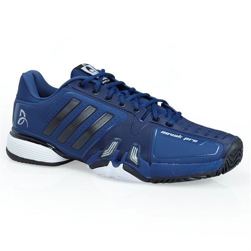 adidas novak pro Mens Tennis Shoe - Blue/Core Black/White
