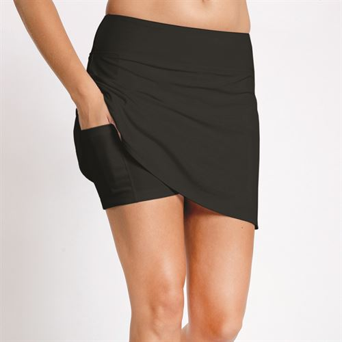 Eleven Pique Motion Skirt - Black