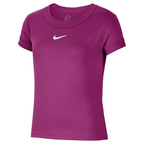 Nike Girls Court Dri Fit Top Cactus Flower/White CQ5386 564