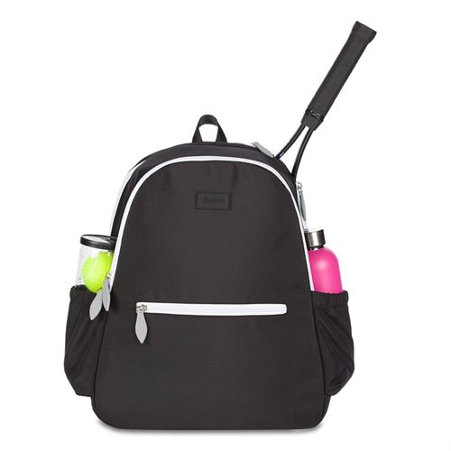 Ame and Lulu Court Side Tennis Backpack - Black