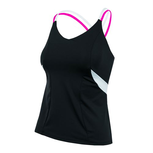 Lucky in Love Off The Charts Active Fit Outta Sight Cami - Black