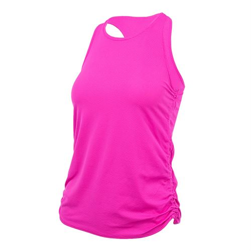 Lucky in Love Off The Charts Chill Fit Airy Cinch Tank - Pink Glow